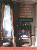 History of Interior Design & Furniture