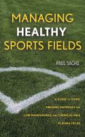 Managing Healthy Sports Fields