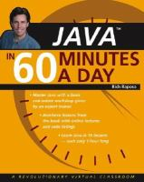 Java in 60 Minutes A Day