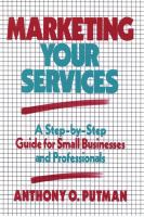 Marketing your Services