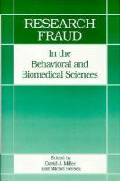 Research Fraud in the Behavioral and Biomedical Sciences