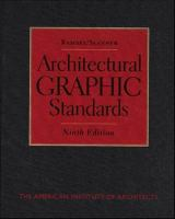 Ramsey/Sleeper Architectural Graphic Standards