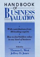 Business Valuation Handbook