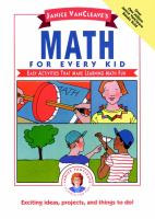 Janice VanCleave's Math for Every Kid