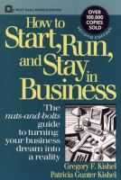 How to Start, Run, and Stay in Business