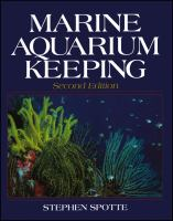 Marine Aquarium Keeping