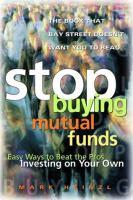 Stop Buying Mutual Funds