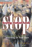 Stop Buying Mutual Funds!