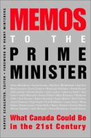 Memos to the Prime Minister