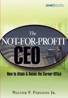 The Not-for-profit CEO