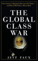 The Global Class War