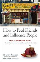 How to Feed Friends and Influence People