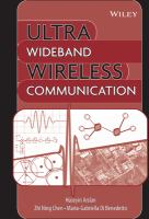 Ultra Wideband Wireless Communication