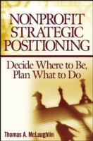 Nonprofit Strategic Positioning