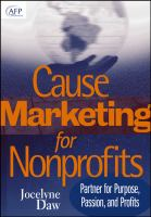 Cause-marketing for Nonprofits