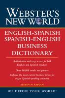 Webster's New World English-Spanish/Spanish-English Business Dictionary
