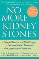 No More Kidney Stones