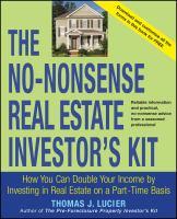 The No-nonsense Real Estate Investor's Kit