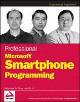 Professional Microsoft Smartphone Programming
