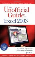 The Unofficial Guide to Excel 2003