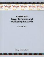BADM 335