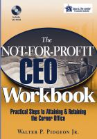 The Not-for-profit CEO Workbook