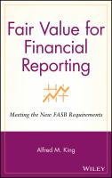 Fair Value for Financial Reporting