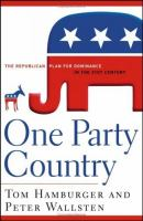 One Party Country