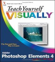 Teach Yourself Visually Photoshop Elements 4