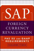 SAP Foreign Currency Revaluation