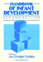 Handbook of Infant Development