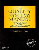 The Quality Systems Manual