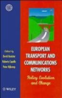European Transport and Communications Networks