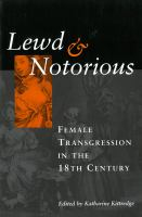 Lewd & Notorious