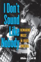 I Don't Sound Like Nobody