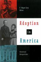 Adoption in America