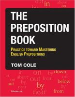 The Preposition Book