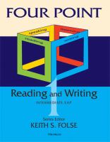 Four Point Reading and Writing 1