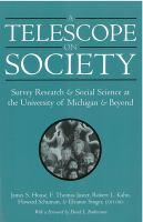 A Telescope on Society