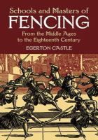 Schools and Masters of Fencing