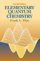 Elementary Quantum Chemistry
