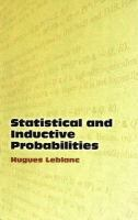 Statistical and Inductive Probabilities