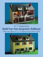 Build your Own Inexpensive Dollhouse With One Sheet of 4? X 8? Plywood and Home Tools