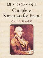 Complete Sonatinas for Piano