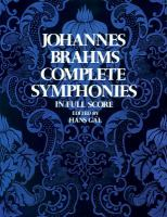 Complete Symphonies In Full Orchestral Score