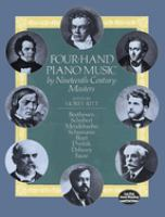 Four-hand piano music by nineteenth century masters