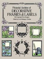 Pictorial Archive of Decorative Frames & Labels