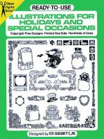 Ready-to-use Illustrations for Holidays and Special Occasions