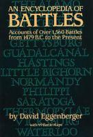 Encyclopedia Of Battles