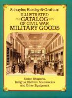 Illustrated Catalog of Civil War Military Goods